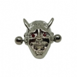 Crystal Eye Devil Nipple Shield & Bar