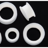 White Silicone Ear Skin Tunnel 4mm - 30mm