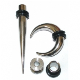 Steel Taper & Tunnel Stretching Kit - Single Size - 1.6mm - 8mm