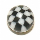 Chequered UV Ball For 1.6mm Body Bars