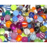 Five Random UV Belly Bars Value Pack