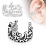 Crown Design Ear Cuff