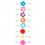 3D Flower Scaffold Bar