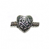 Love Heart Shape - Single Bead