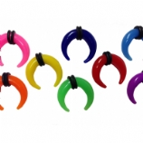 Neon Acrylic Stretching Crescent 3mm - 8mm