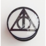 Deathly Hallows Plug 6mm - 30mm