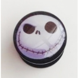 Jack Skellington Plug 6mm - 25mm