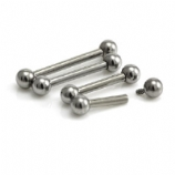 Plain Internally Threaded Titanium Barbell - 1.6mm