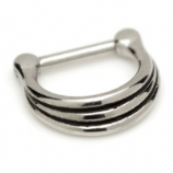 Steel Graduated Band Septum Ring