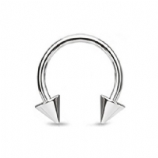Horseshoe Circular Barbell - 1.2mm - Spike
