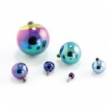 Titanium Threaded Ball - 8mm ball